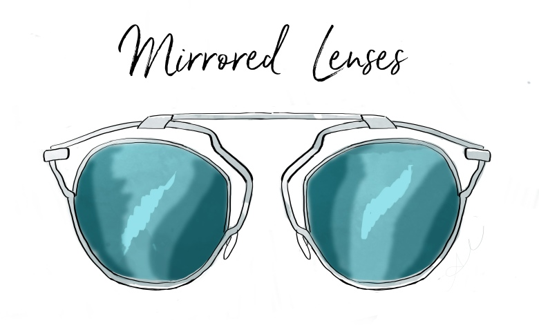 mirrored lenses